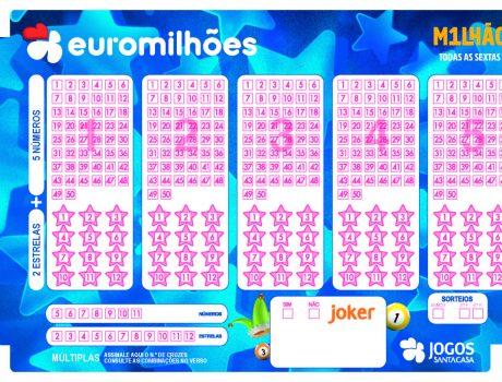 Os números mais saídos no Euromilhões